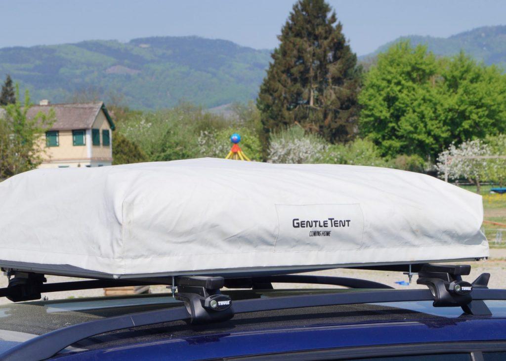 Roof auf Autodach verpackt